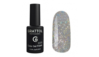 Grattol Color Gel Polish Luxury Stones - Opal SILVER